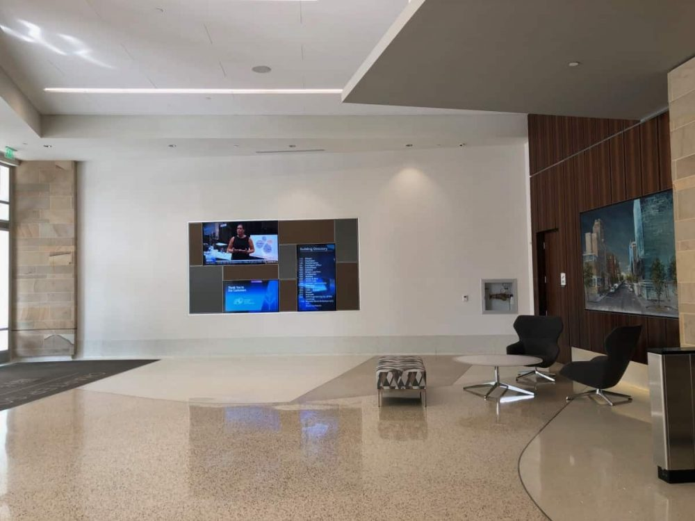 Here's a photo that P.Y. took of the inside of the virtual office where she rents a space in Downtown Raleigh, NC located