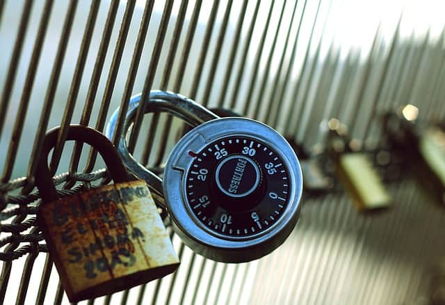 locks on your personal data