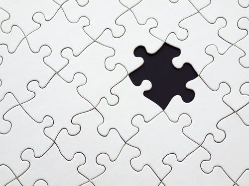 a sign of a missing piece to the puzzle...represent not using all of  your facebook business strategies options