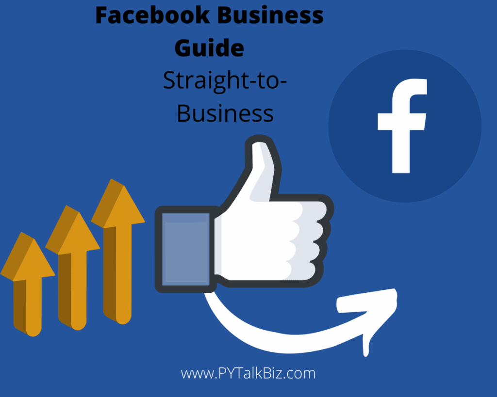 A Facebook banner about how to build a Facebook business page