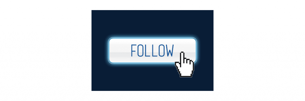 Facebook Follow sign