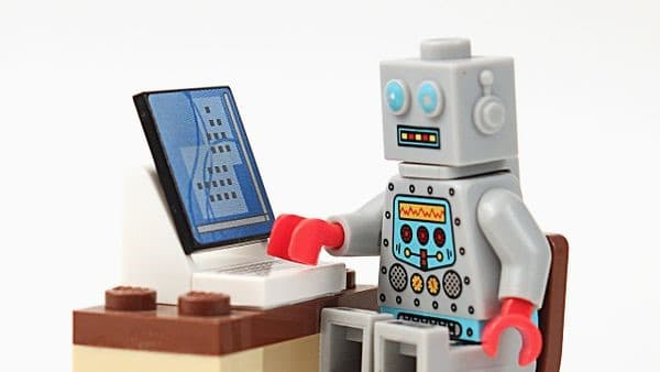 chatbots for websites, bot at computer