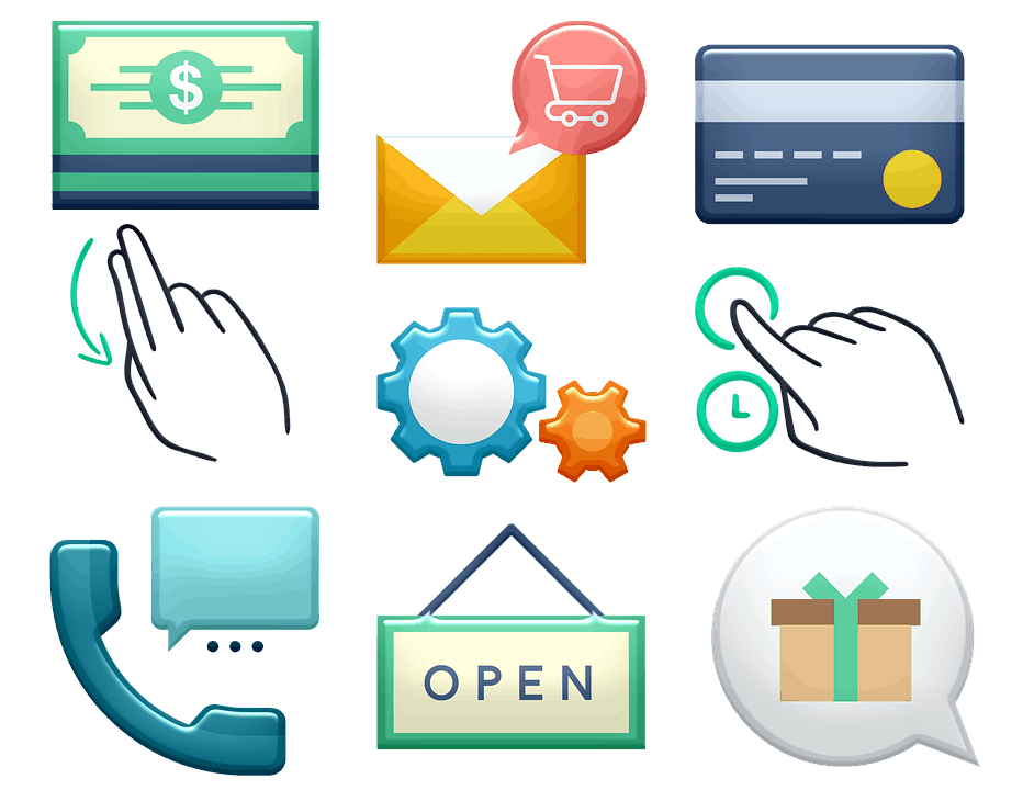 icons of small business marketing strategies