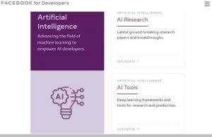 Facebook page regarding AI bots