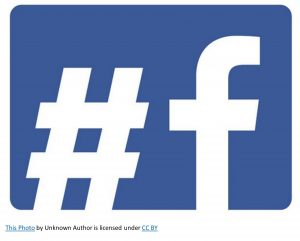 this is a photo of the Facebook and hashtag system-how to use facebook hashtags