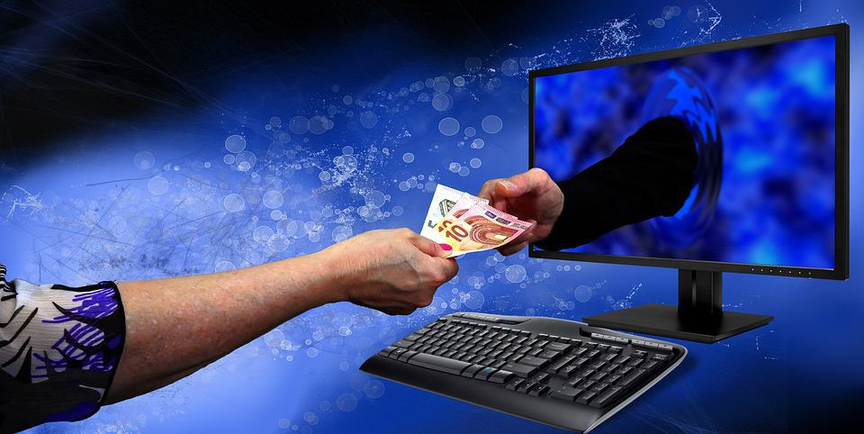 this is the money exchanging hands. representing the perfect email marketing strategy