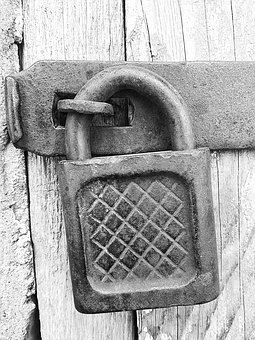 indentity fraud, photo of a lock gate