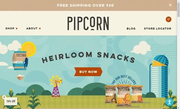 PIPCorn USP Example