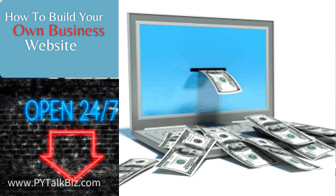 how to buildyour own business website